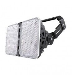 Foco LED Deporte 500w, 140lm/w. Lumileds & Meanwell. Fútbol, Rugby, Atletismo. ENAC