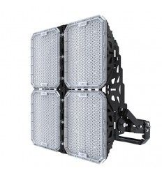 Foco LED Deporte 1000w, 140lm/w. Lumileds & Meanwell. Fútbol, Rugby, Atletismo. ENAC