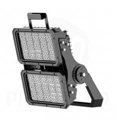 Foco LED Deporte 500w, 150lm/w. Lumileds & Inventronics. Fútbol, Rugby, Atletismo, Beisbol