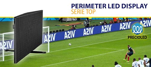 Pantalla display perímetro Futbol - LED Football Perimeter Display
